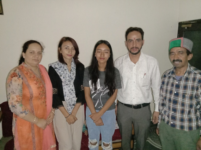 With Akanksha and Parents Scientist1